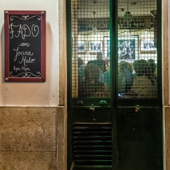 Live Fado in Bairro Alto, Lisboa