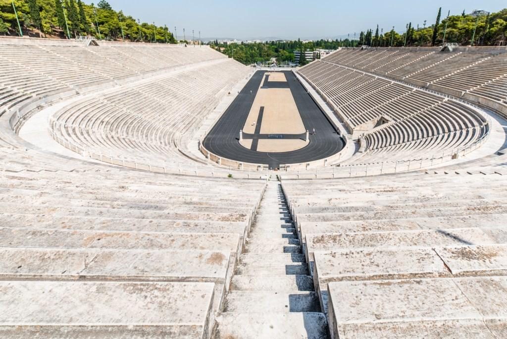 wide angle big Panatinaikos stadium