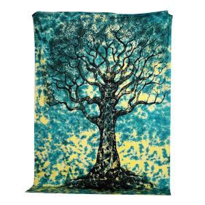 Tree Mandala Tapestry