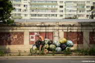 Garbage collector in Bucarest