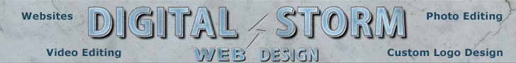 Digital Storm Web Design