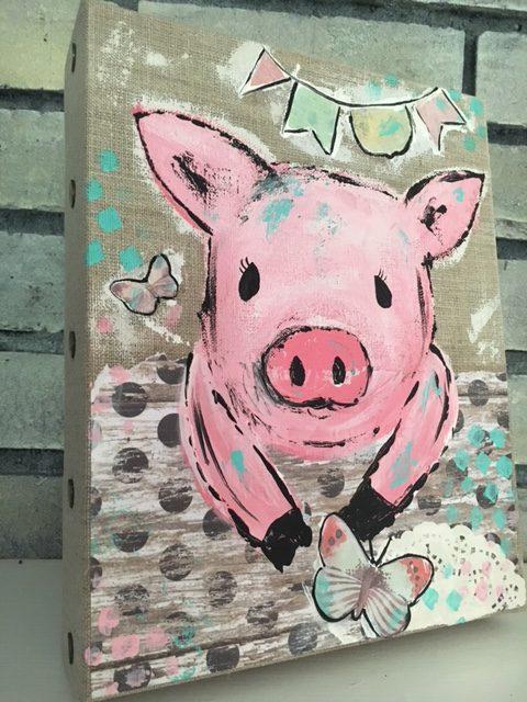 Precious the Pig  SOLD