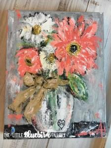 Customizable Meaningful Art at The Little Bluebird Gallery | ArtbyAmandaHilburn.com