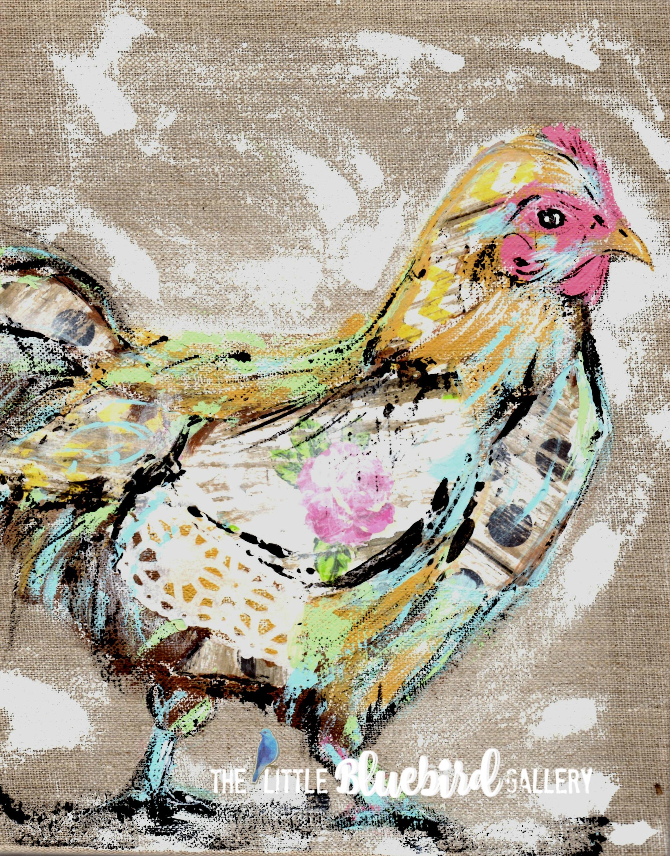 Rosie the Chicken Print