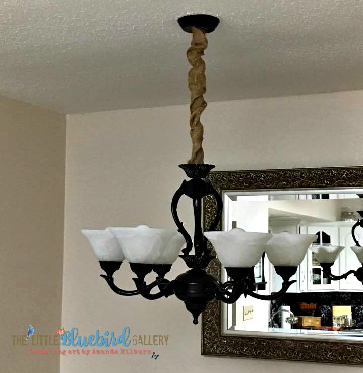 My DIY Light Fixture Update For Less than $10