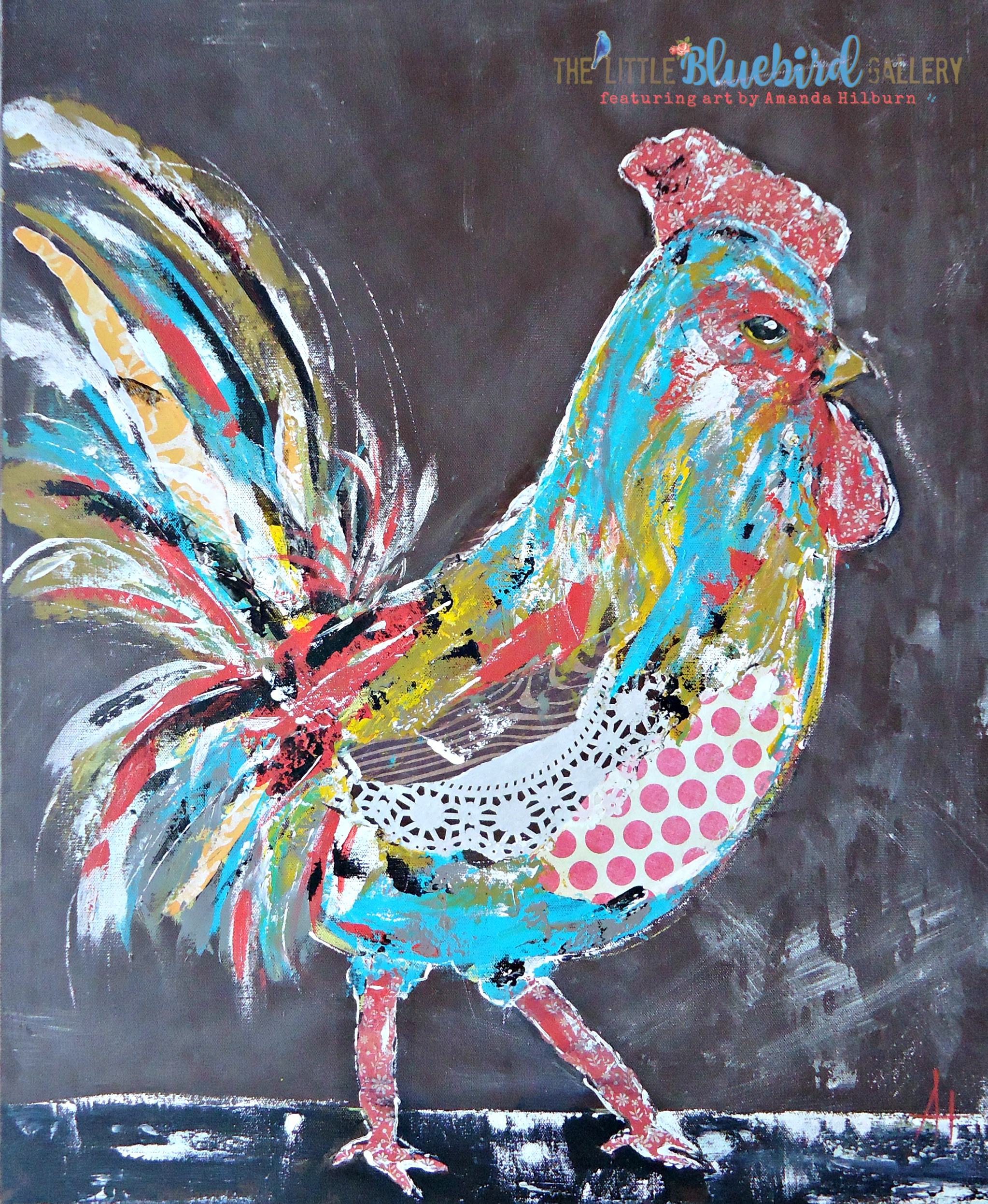 Mr. Shabby the Rooster