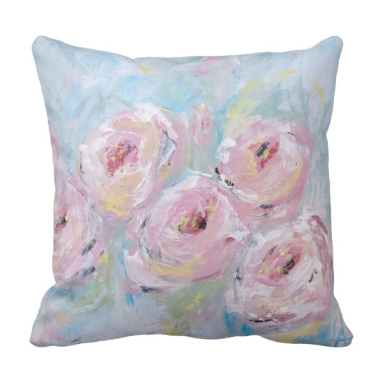 Peony Bloom Pillow