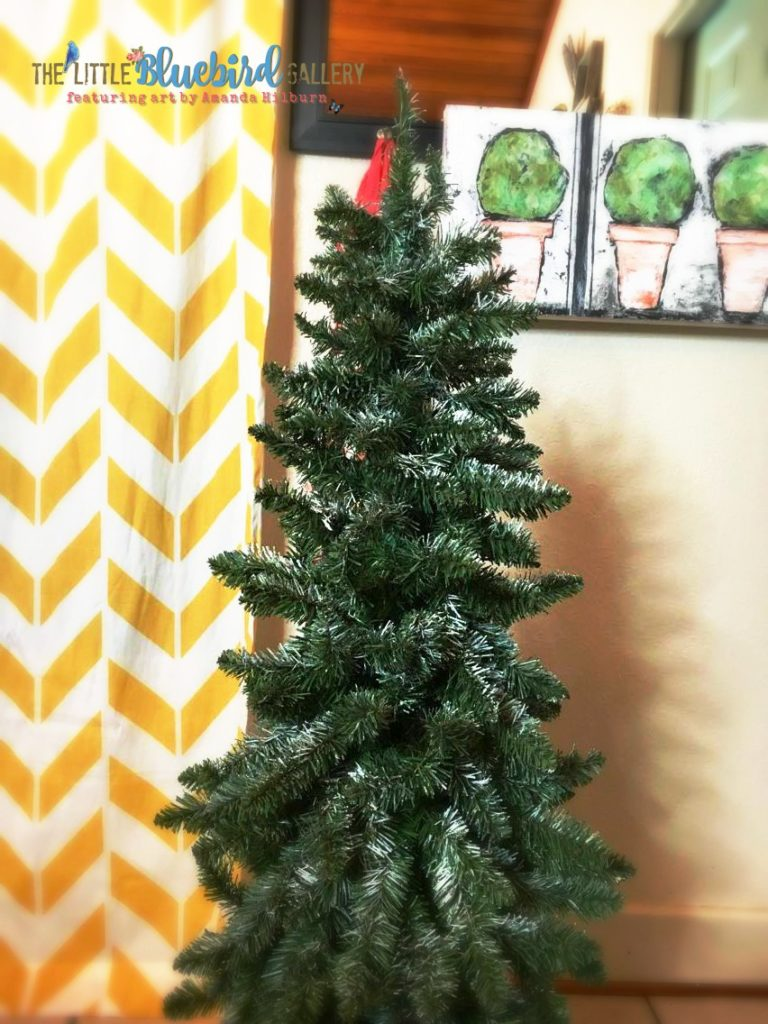 Learn to update your old Christmas decor with chalky paint!