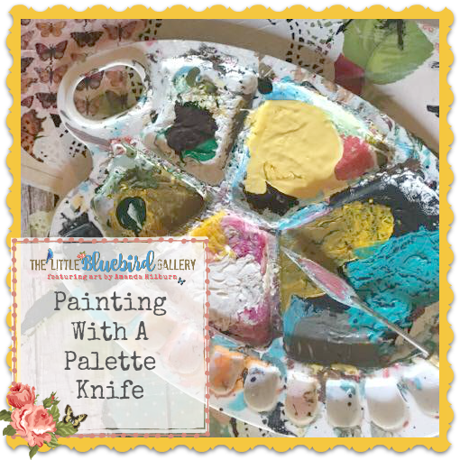 Learn about palette knives and how I use them!