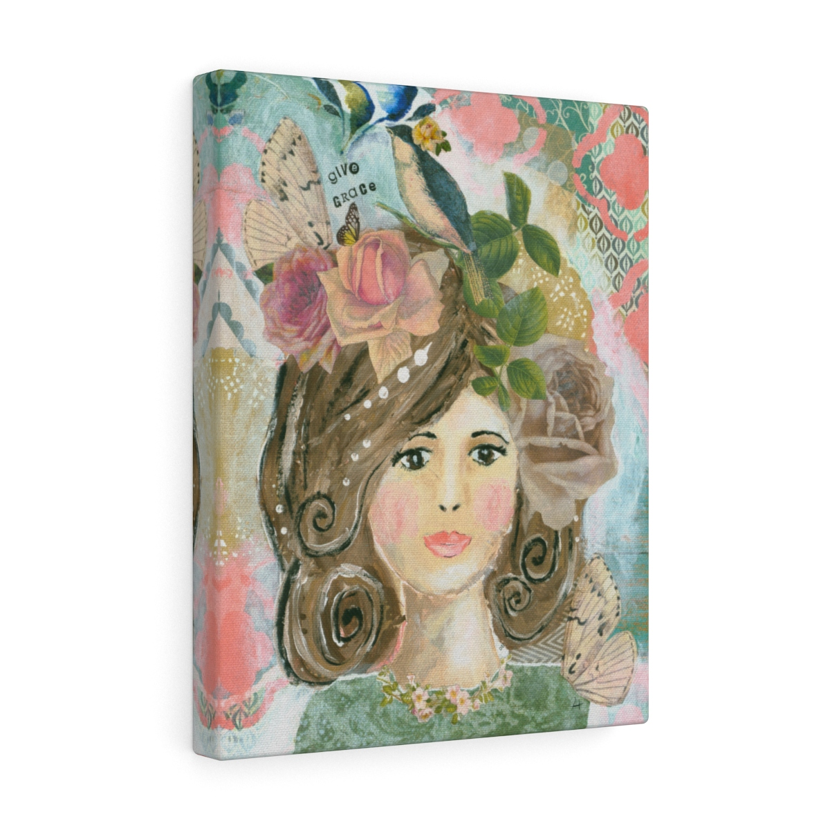 Give Grace- Canvas Gallery Wrap Print