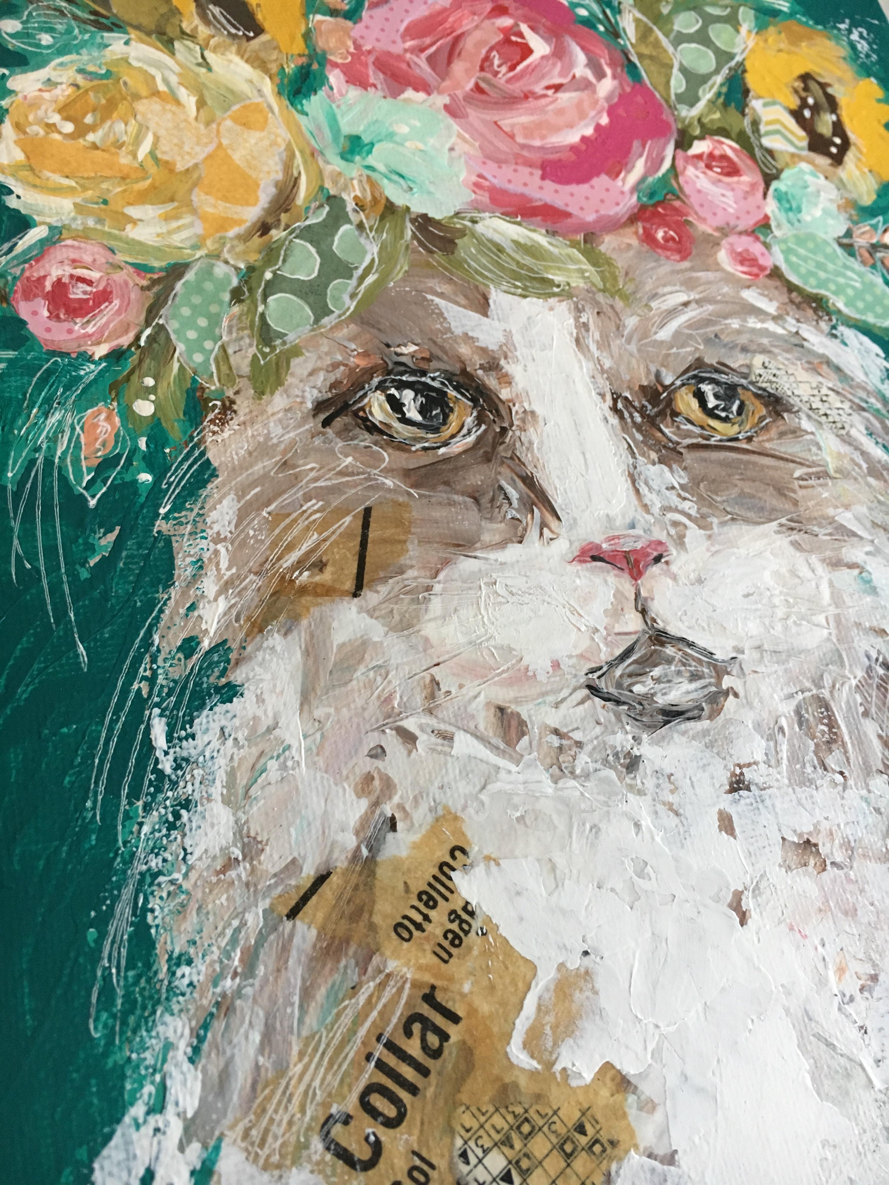 Flora the Cat by Amanda Hilburn
