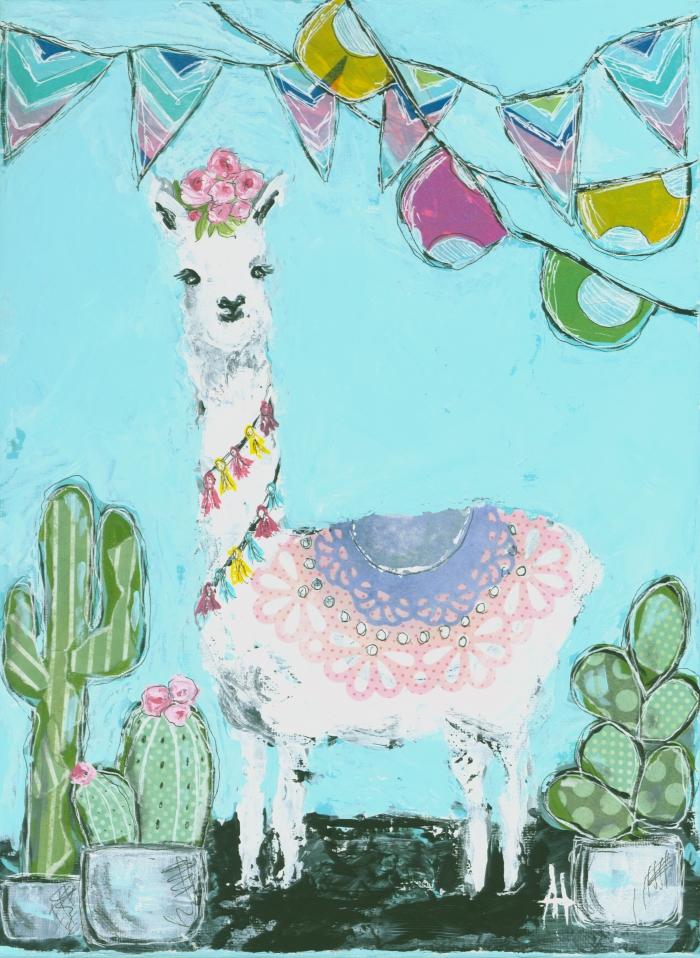 Party Llama Print