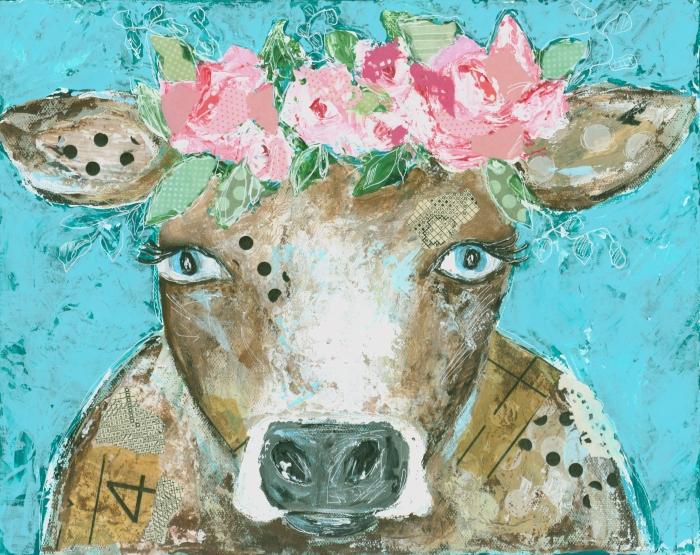 Blossom the Cow Print