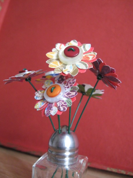 Mini-Flower Bouquets - close-up