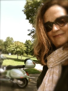 2014 scooter selfie - Version 2