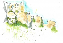 View of Les Baux 2