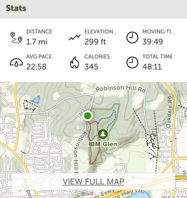 All Trails - Glen hike