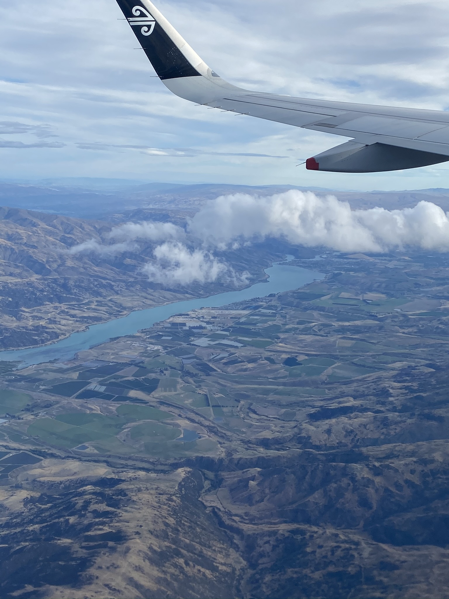 Landing in Queenstown