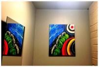 Phoenix Bells Acrylic on Canvas SOLD