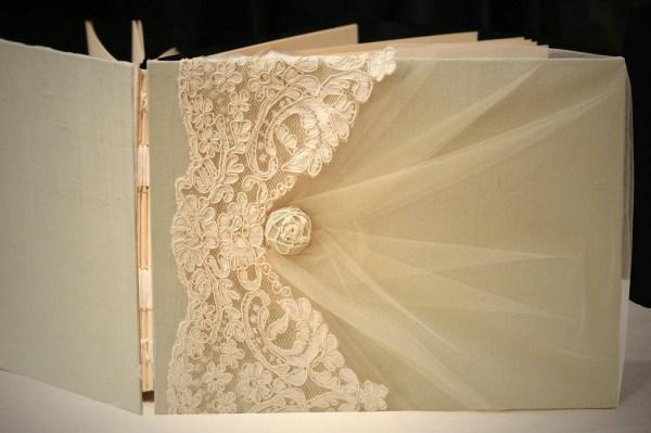Photo Album, 9×12, Guest Book, Ivory on Pistachio Green ...