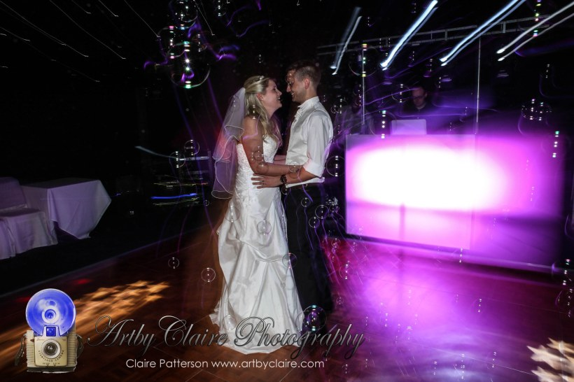 Jodie & Michaels' super cool wedding