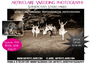 Highly recommended Hertfordshire Photographer