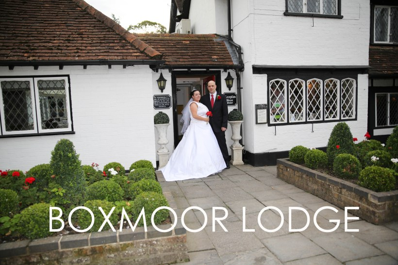 Boxmoor Lodge recommended Wedding Photographer