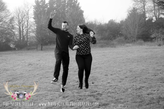 rtbyClaire Photography Engagement Shoot at Shendish Manor