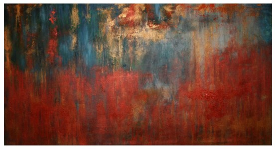 Acrylic Canvas Linen 70x130 cm - Autumn