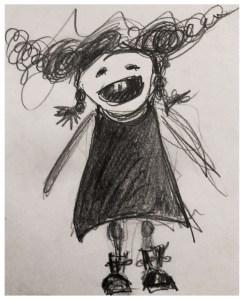 Sketch. Paper. 20x14 cm - Happy Selfie