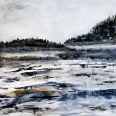 Acrylic Canvas 87x87 cm - Norrlandsvinter