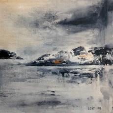 cjosefsson_art_acrylic_by-the-sea-bohuslän_paper_30x30cm_IMG_1180_ps_crop