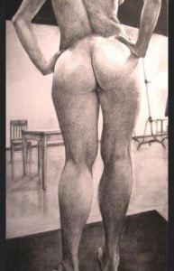 Nude Study - Art by Dan Smith