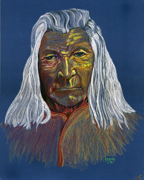 Blue Indian by James T. Giles