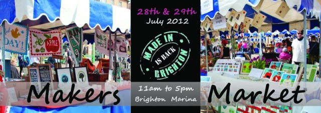'Made in Brighton' Market this weekend at Brighton Marina