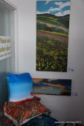 Open studio / exhibition of works by Jacqueline Hammond at JAG Gallery in Brighton, UK