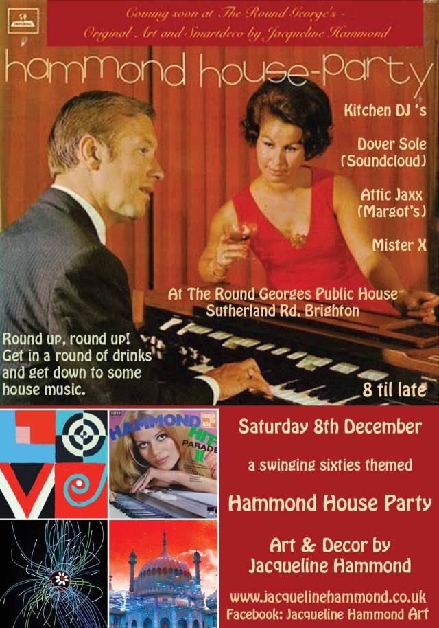 Hammond House Party - raising the roof with art - THIS SATURDAY!