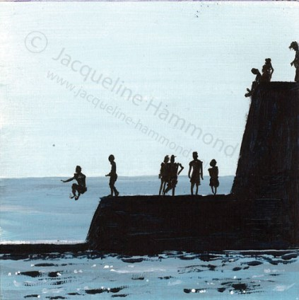 7th-Mini-Take-a-Jump by British artist Jacqueline Hammond