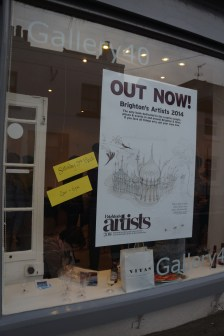 Brighton Artists book launch- arty magazine (8)