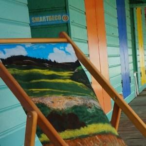 Smart Deco Deckchairs Santa Fe Deckchair by British artist Jacqueline Hammond