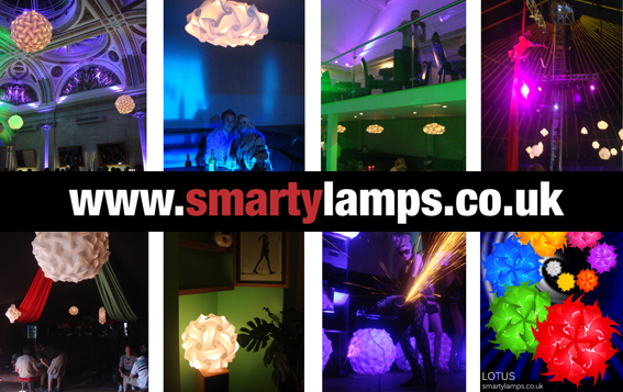Smarty Lamps selection of lampshades - 2