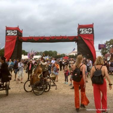 Glastonbury Festival Theatre and Circus Fields