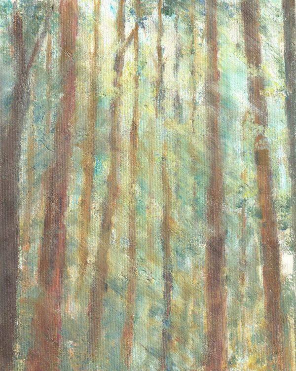 Oil on canvas - Ancestral Woods