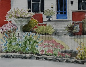 Barboursville house painting