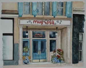 Mug and Pia Painting1