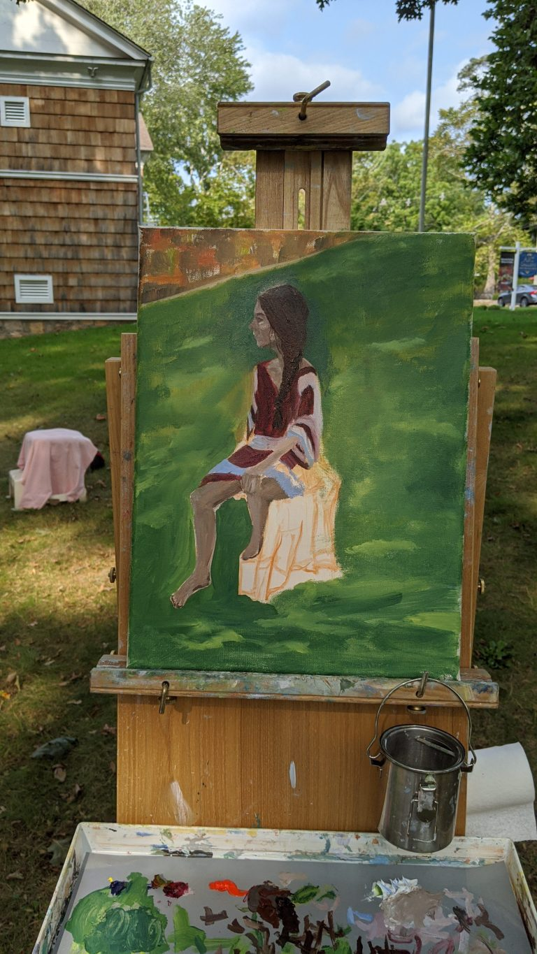 Figure painting class 2a