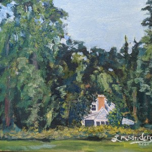 Hidden House, Plein Air