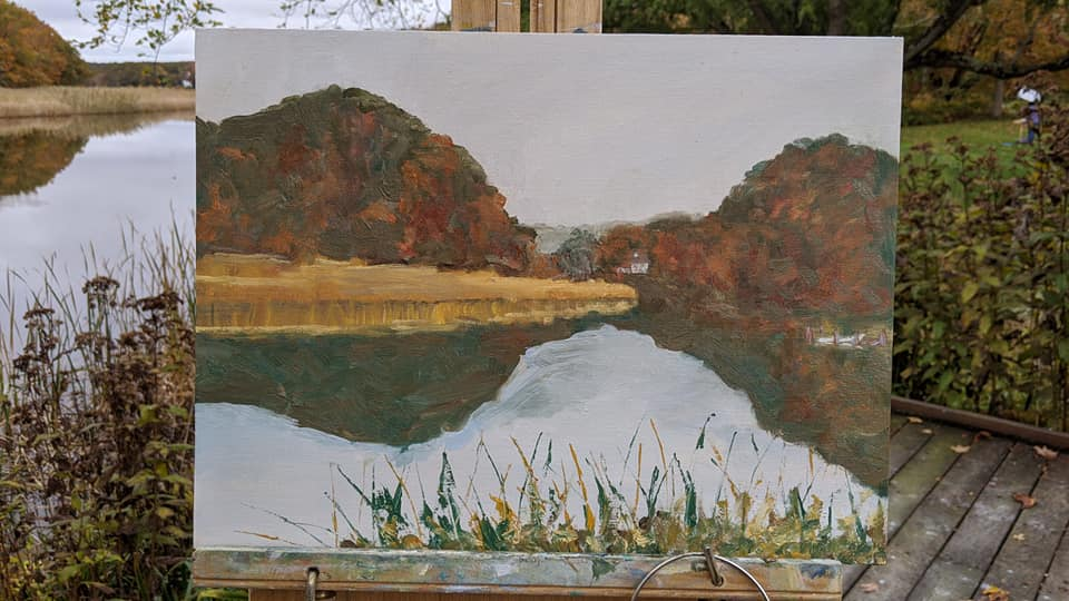 LT River 10.2020 painting
