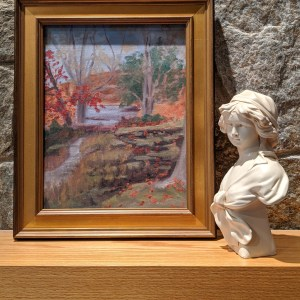 Autumn Luitentant River at Florence Griswold Museum, Plein Air