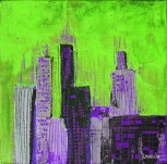 grøn-lilla